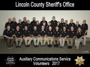 2017 Auxiliary Communications Service Team Photo