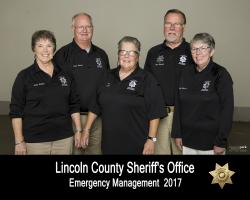 Lincoln County Emergency Management Division Volunteers