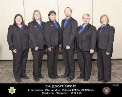 Lincoln County Sheriff Support Services 2016