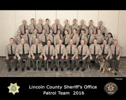 Lincoln County Patrol Team 2016